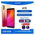 XGODY A70 3G Смартфон Android 8,1 6