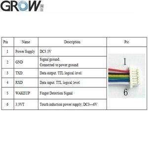 Image 5 - R503 2 Màu Mới Lạ Vòng Đèn Báo LED Điều Khiển Vòng Vân Tay Module Điều Khiển Truy Cập Arduino
