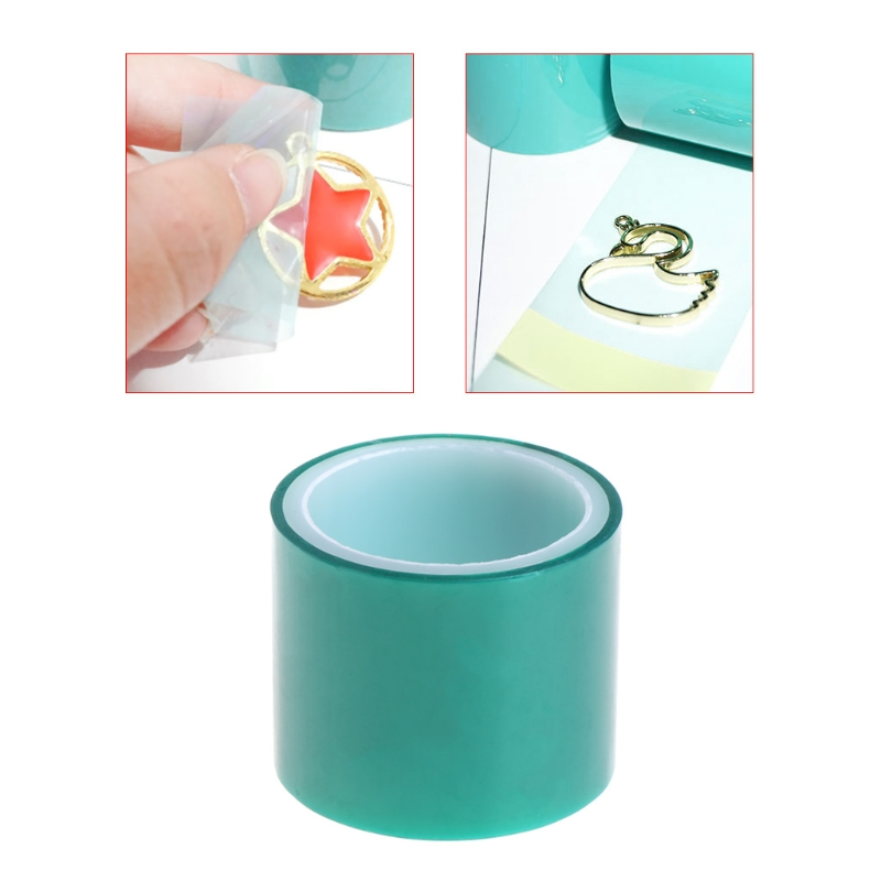 5m Paper Tape For Metal Frame Bottom Jewelry DIY Pendant UV Resin High Adhesive F29 20 Dropship