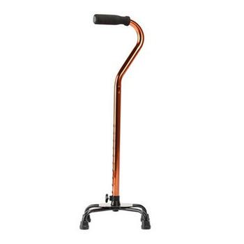 Kijki trekkingowe kijki trekkingowe ze stopu aluminium kijki trekkingowe proste kijki trekkingowe z czterema nogawkami dla seniorów akcesoria dla osób niepełnosprawnych i starszych tanie i dobre opinie ROSENICE Walking Stick