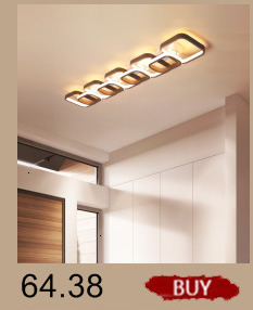 H2616502bc4954a2aad2675b2c7211c7cb Creative modern led ceiling lights living room bedroom study balcony indoor lighting black white aluminum ceiling lamp fixture