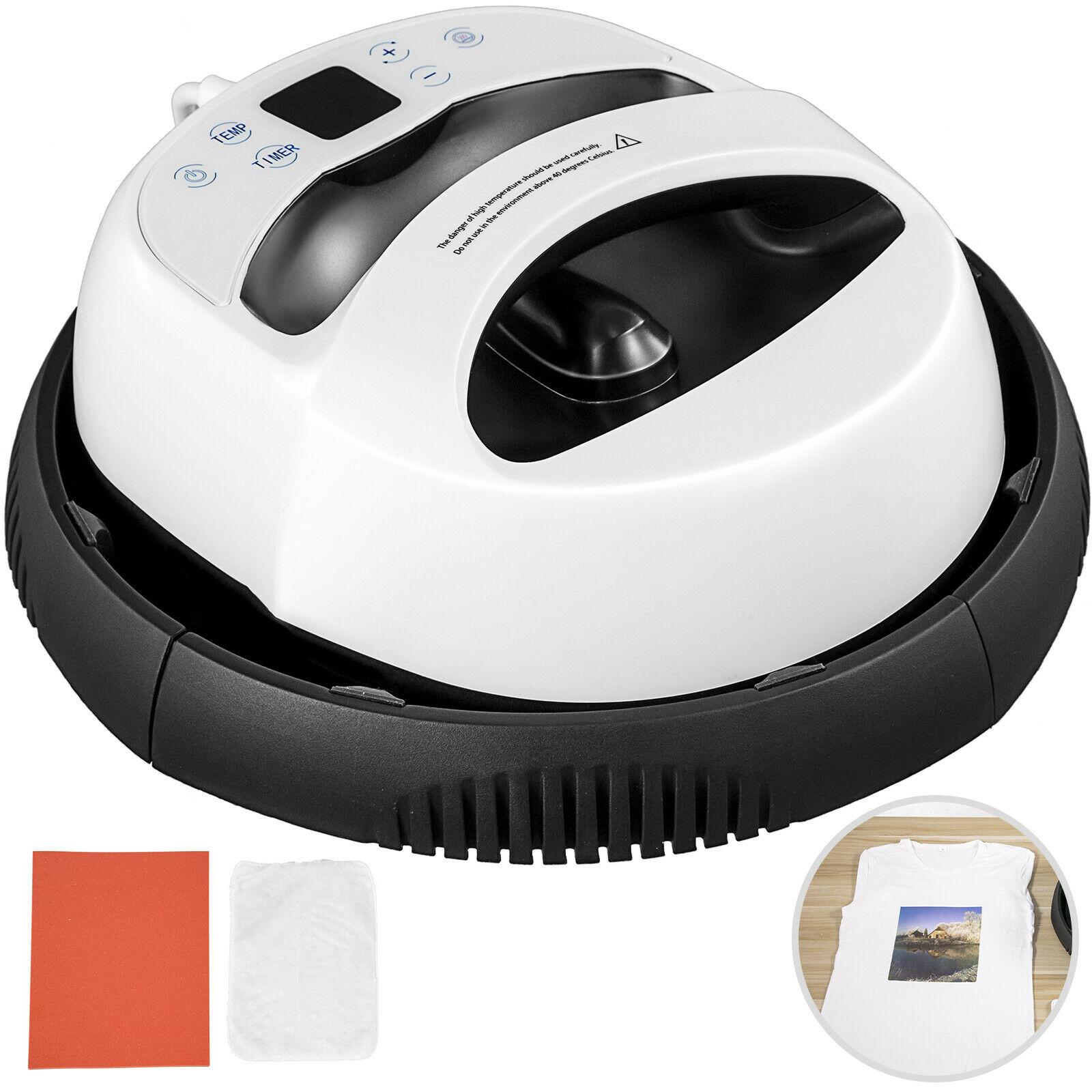 Heat Press 12x10 Inch Portable Digital Machine T Shirts Easy Mini Press Kit