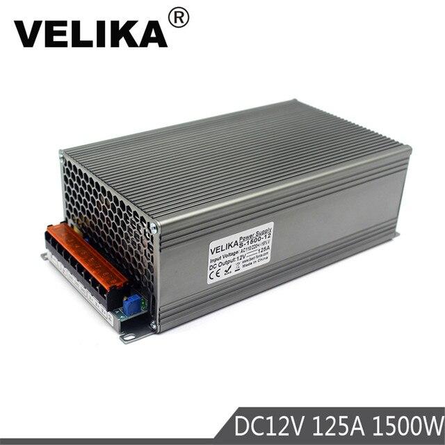 Tek çıkış DC 12V 13.8V 15V 18V 24V 27V 28V 30V 32V 36V 42V 48V 60V 600W 720W 800W 1000W 1200W 1500W güç kaynağı anahtarlama
