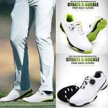 Новинка; обувь для гольфа; Мужская спортивная водонепроницаемая обувь; дышащие Нескользящие кроссовки с пряжкой; S66