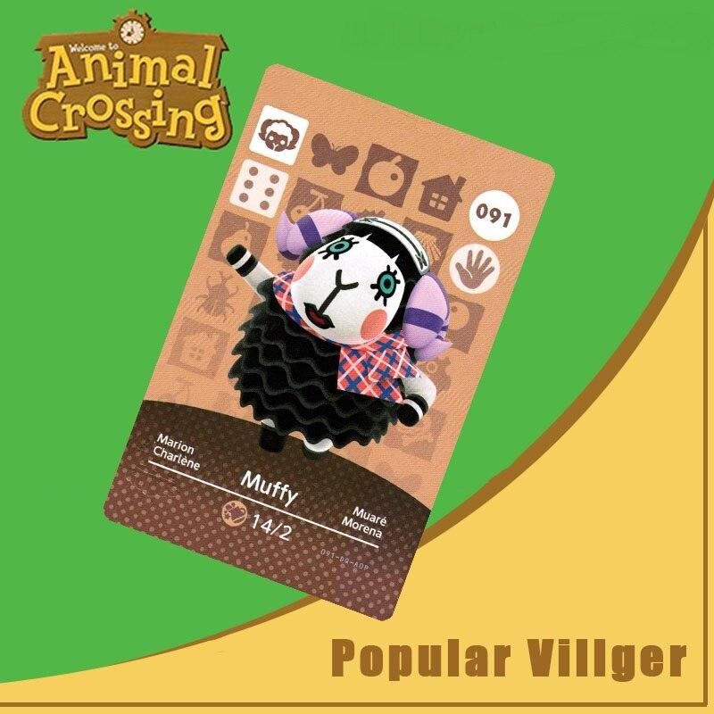 091 Animal Crossing Amiibo Card Muffy Amiibo Card Animal Crossing Series 1 Muffy Nfc Card Work For Ns Games Dropshipping