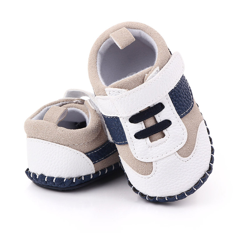 Fashion Casual Baby Boy Shoes For 1 Year Old PU Non-Slip Newborn Shoes Toddler Shoes For First Walkers Infant Baby Schoenen