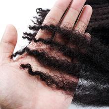 DANSAMA Marley Hair For Twists 18 Inch 3packs Long Afro Marley Braid Hair Synthetic Fiber Marley Braiding Hair Extensions cheap High Temperature Fiber CN(Origin) Marley Braids 24strands pack Ombre Crochet hair extensions Marley Braids Crochet Hair