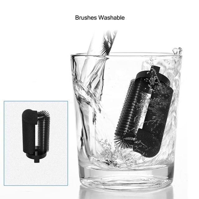 Juego de 3 cepillos de repuesto para limpiador eléctrico, accesorios de cepillo eléctrico, herramienta de limpieza para ELIO EC100, extraíble y lavable para Iqos, 1 unidad