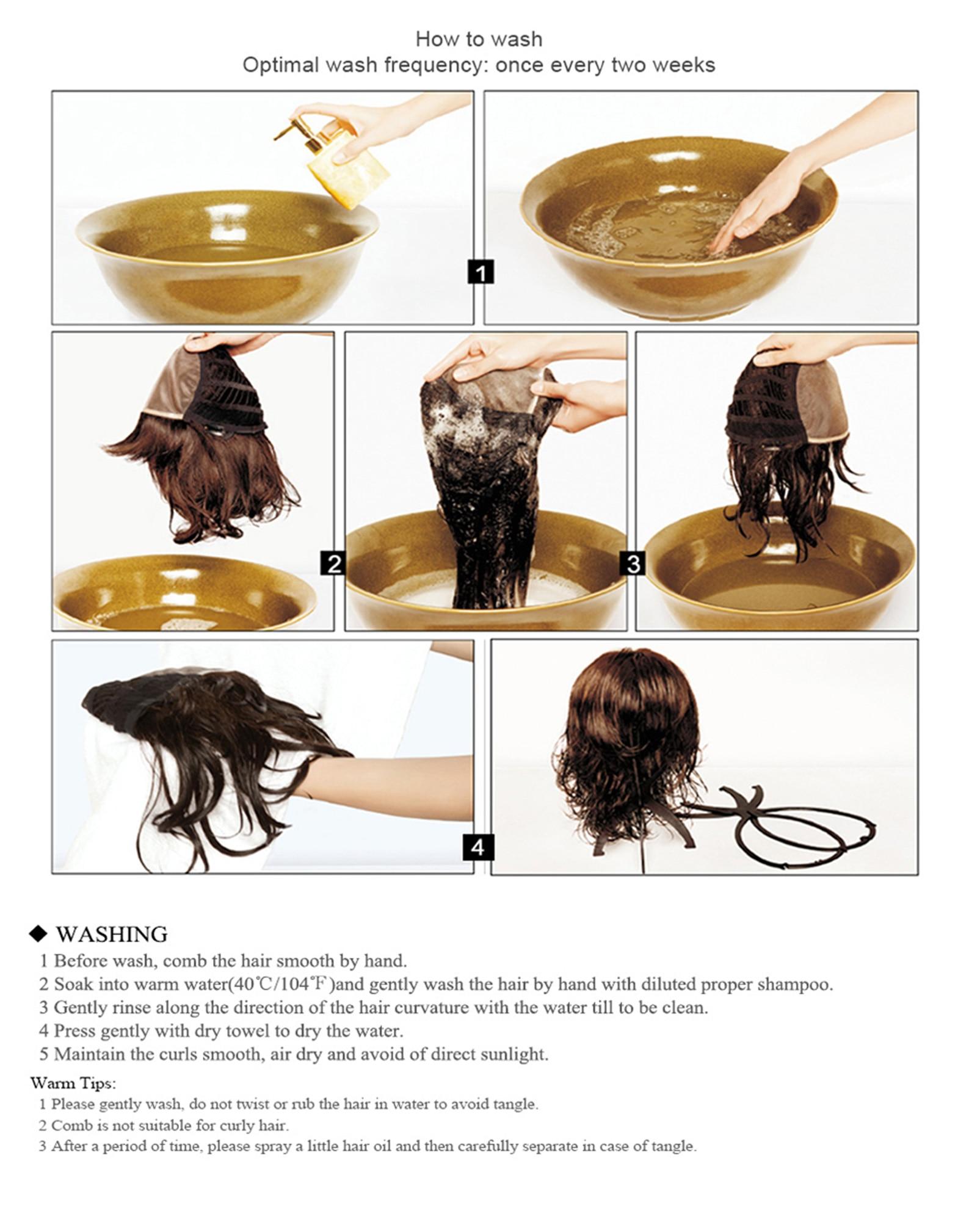 Easihair peruca cabelo sintético, longa liso preto