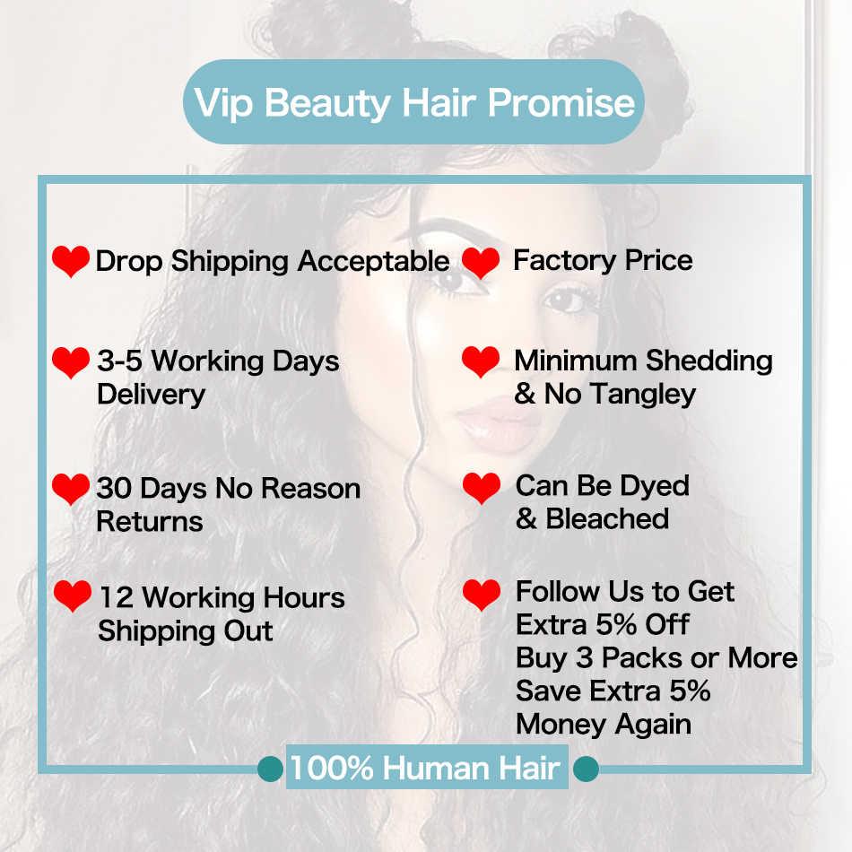 VIPbeauty перуанская волна Кружева Закрытие remy волос 100% человеческие волосы переплетения 4x4 размер бесплатная часть натуральный цвет 1B 10-20 дюймов