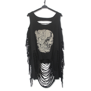 Image 1 - Crop Top Cropped Sexy Tank Fashion Casual Punk Rock Pok Streetwear Hollow Out Tanks Bustier harajuku Womens Clothing Clothes