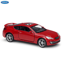 WELLY 1:36 Hyundai 2009 Genesis Coupe alloy car model machine Simulation Collection toy pull-back vehicle Gift collection(China)