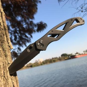 2021 Hot Seller Gerber in Outdoor Folding knife High Hardness Camping Hunting Tactics Pocket kitchen Self-defense garden Tools 1