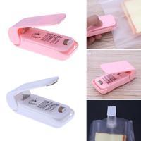 Mini Tragbare Handliche Kunststoff Tasche Paket Wärme Versiegelung Abdichtung Maschine Lebensmittel Erhaltung Haushalt Storage Bag Sealing