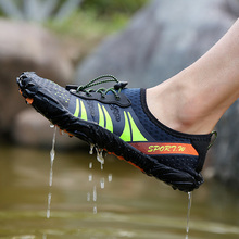 Water Shoes Men Summer Breathable Aqua Rubber Upstream Woman Beach Sandals Diving Swimming Socks Tenis Masculino