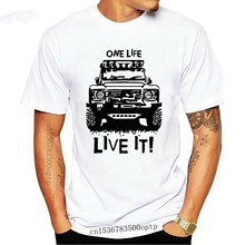 T-shirt à manches courtes pour hommes, avec imprimés, 90 110, One Life it Off Road