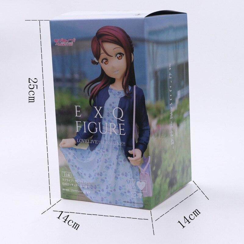 24 см любовь Живая девушка сексуальная кукла аниме фигурка ПВХ Коллекционная модель игрушки фигурка для друзей подарок