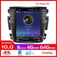 Android 8.1 Octa core 9.7 Car radio GPS for Nissan teana J31 2003 2007 230JK 230jm For Samsung S7 4G Lte
