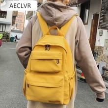 Backpack New Waterproof Nylon Backpack for Women Multi Pocket Travel Backpacks Female School Bag forTeenage Girls Book Mochilas