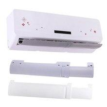 Ar condicionado defletor anti-vento ar condicionado defletor retrátil capa ajustável pára-brisa