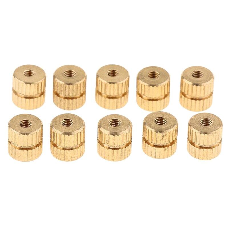 10Pcs Tenor Horn Key Button Piston Value Cap Screws For Trumpet Tenor Horn Cornet Tuba Accessories