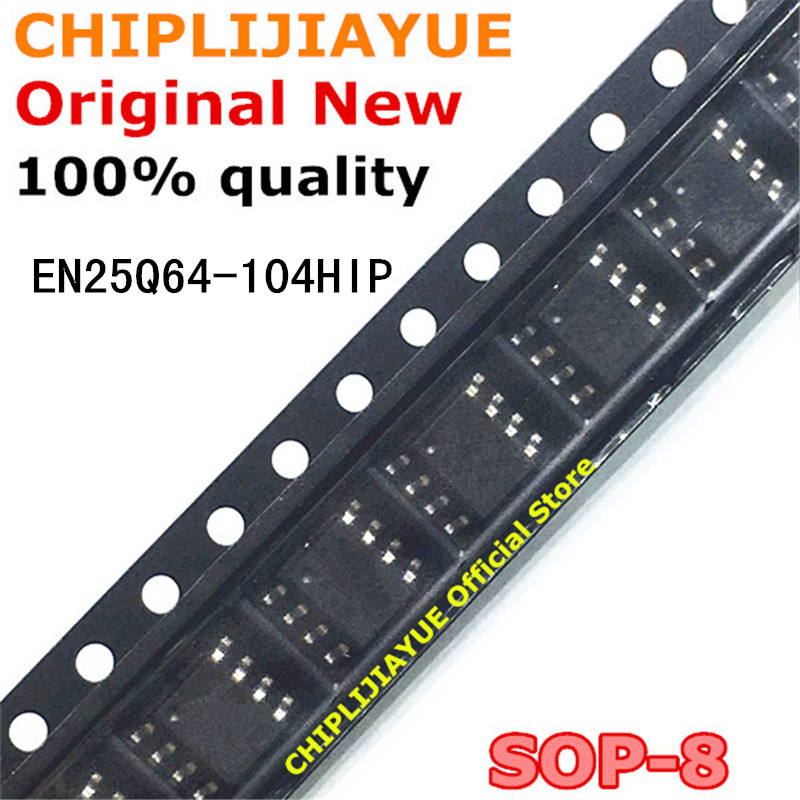 5-10PCS EN25Q64-104HIP SOP-8 EN25Q64 104HIP SOP 25Q64 SOP8 SMD New And Original IC Chipset