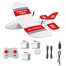 KF606 EPP Foam Glider RC Airplane Flying Aircraft 2.4Ghz 15 Minutes Fligt Time Foam Plane Toys For Kids Gifts