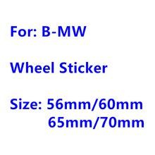 4 шт., 56 мм, 60 мм, 65 мм, 70 мм, автомобильная эмблема, колпачки для центра колеса, значок, наклейка, пыленепроницаемые Чехлы, наклейка, аксессуары ...