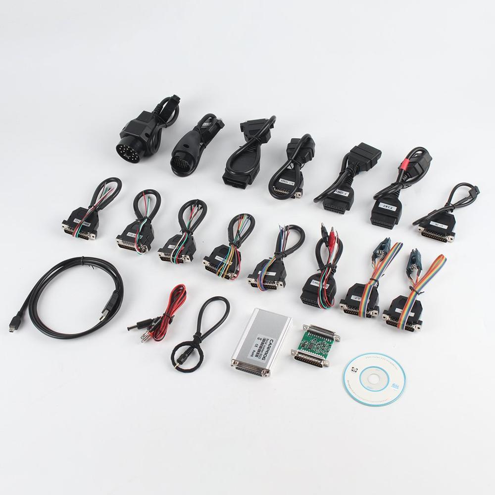 CARPROG V8.21 programmeur réparation automatique Airbag réinitialiser outils voiture Prog 10.93 ECU puce outil de Diagnostic avec 21 adaptateurs
