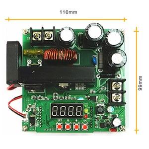 Image 5 - 5 יח\חבילה B900W מתכוונן דחף מודול הנוכחי שנאי מתח רגולטור מודול קלט קבוע 8 60v כדי 10  120v 900w