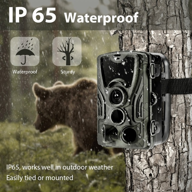 Goujxcy HC801 Hunting Camera 20MP Trail Camera Night Vision Forest Waterproof Wildlife Camera Photo Traps Camera Chasse Scouts 3