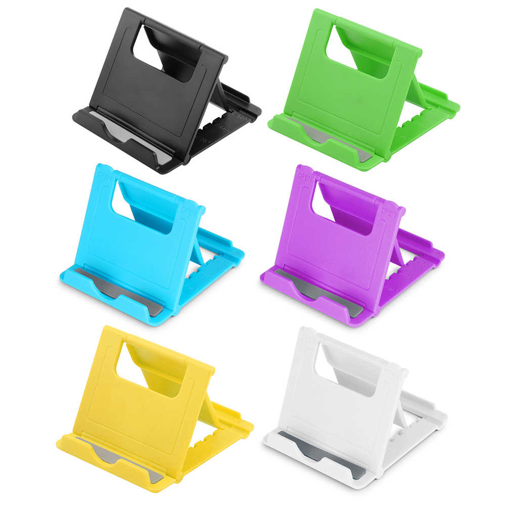 7 Angles Mini Universal Adjustable Foldable Cell Phone Tablet Desk Stand Holder Smartphone Mobile Phone Bracket for Phones PAD