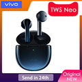 Наушники-вкладыши VIVO TWS Neo 14,2 мм aptX AAC BT5.2 IP54 Беспроводная bluetooth-гарнитура X50 X30 Pro iqoo Nex 3 U3x Z5x V17
