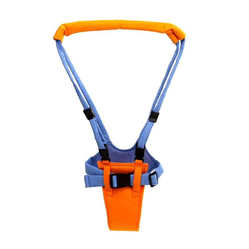 High Quality Baby Walker Infant Toddler Walk Learning Assistant Walker Jumper Strap Belt Harness Operate With One-hand