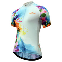 цена на Women Cycling Jersey Breathable MTB Clothes Quick Dry Bicycle Shirts Summer Sportswear Bike Jerseys Ropa Ciclismo
