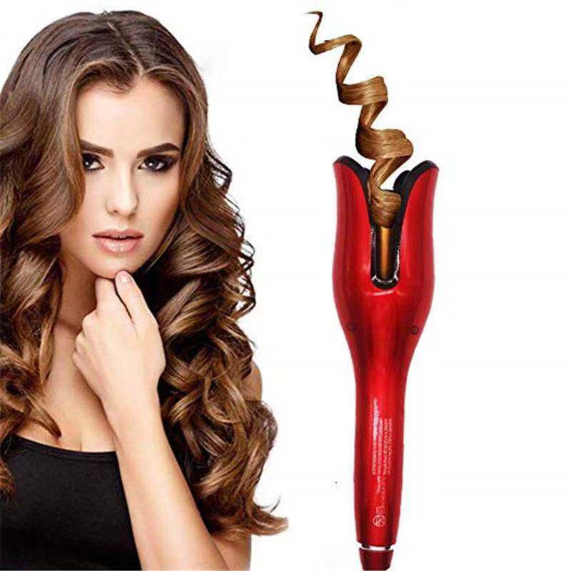 Rose-shaped Multi-Function LCD Curling Iron Automatic Hair Curler Styling Tools Curlers Wand Waver Curl Automatic Curly Air Set