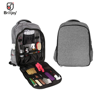 Brilljoy Barber Hair Accessories Large Capacity Storage Outdoor Travel Backpack Hairdressing Clipper Tool Bag Cosmetic Organizer