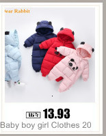 H261a83dcd2cc4c6c9aeb8b34e8dc1241c Baby boy girl Clothes 2019 New born Winter Hooded Rompers Thick Cotton Outfit Newborn Jumpsuit Children Costume toddler romper