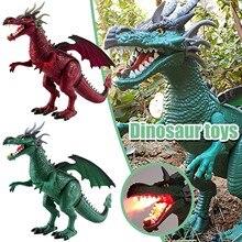 Dinosaur Toy Electric Remote-Control Intelligent Animal Walking-Sound Children New Raptor