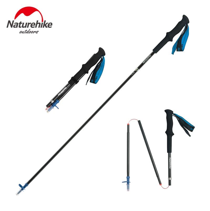 2 Pack Adjustable Walking Sticks Trekking Poles Collapsible Hiking Poles