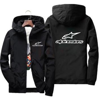 Jacket Men Windbreaker 2020 Spring And Autumn New High Mountain Star Jacket Jacket Men Windbreaker Pilot Hooded Jacket Male 6XL