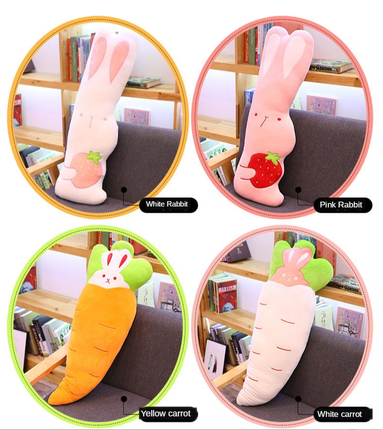Новинка плюшевая морковка игрушки прекрасный кролик Мальчик