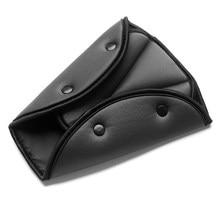 Funda para cinturón de seguridad de coche, clip para cinturón de seguridad triangular ajustable, resistente, para bebé, productos de estilismo para coche