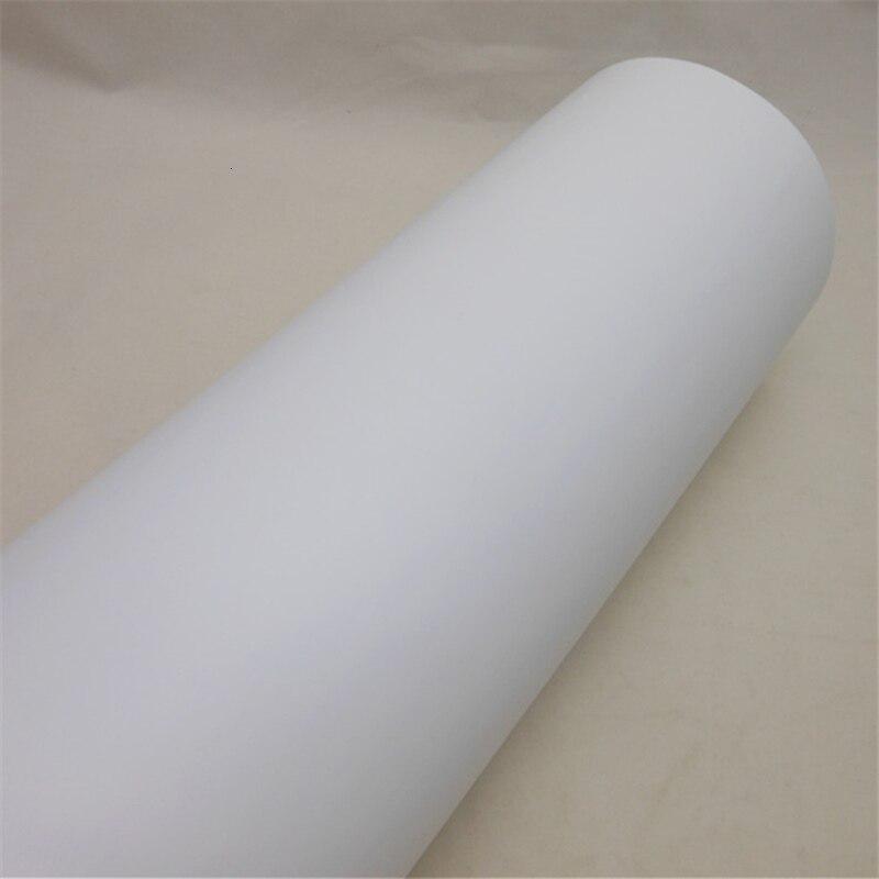 Film vinyle auto adhésif blanc imprimable pour impression numérique autocollants autocollant de voiture taille: 0.914*50 m/Roll - 2