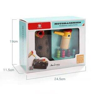 Image 5 - ベビー玩具新木製磁気釣りゲーム色 Cogniton 早期学習教育のおもちゃキッズギフト屋外おもちゃセット