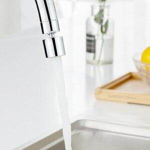 Image 4 - Youpin mutfak musluk havalandırıcı su difüzör Bubbler çinko alaşımlı su tasarrufu filtre memesi musluk bağlantısı çift modlu