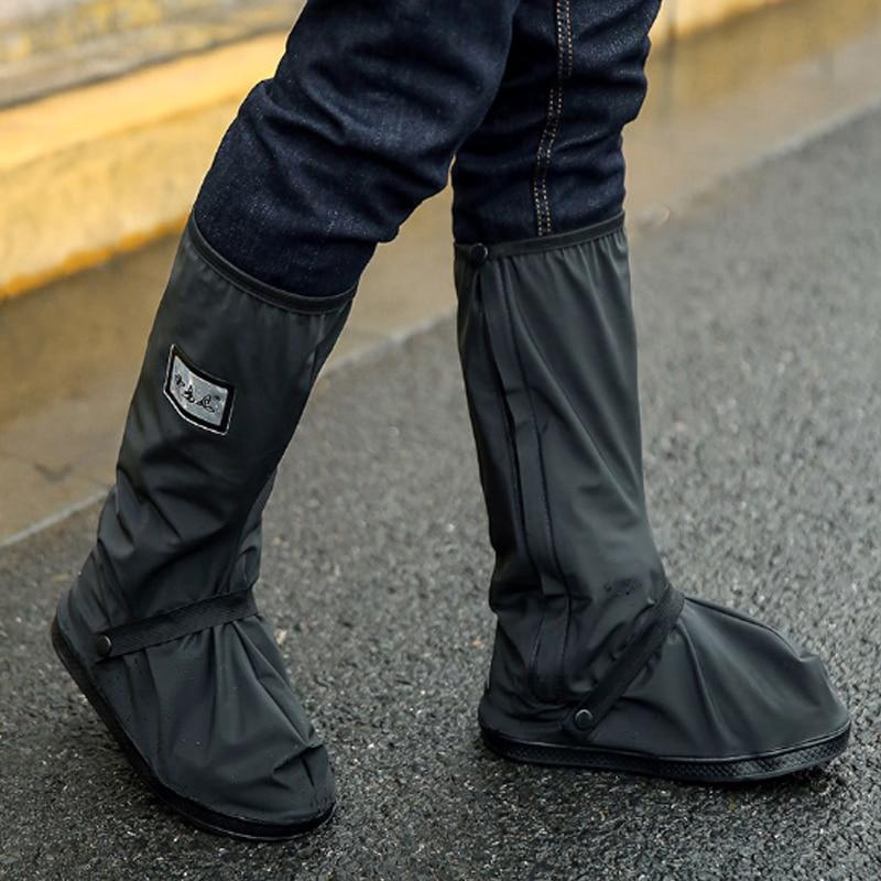 White Reusable Rain Shoes Female 1Pair Wedding Graceful Covers Waterproof Motorcycle Cycling Bike Boot Black Waterproof Shoe