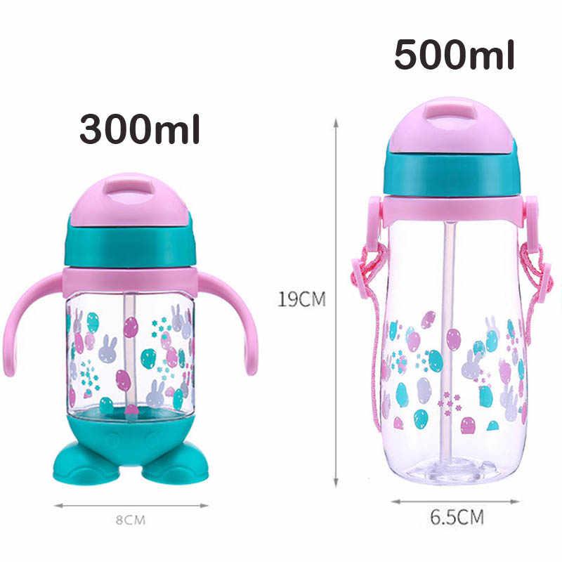 ใหม่เด็กขวดเด็กนมขวดปากนุ่มทารกเครื่องดื่มการฝึกอบรมถ้วยน้ำขวด Biberones Para Bebe