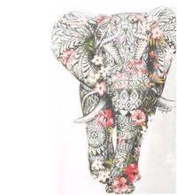 Diamond Painting DIY 5D Elephant Cross Stitch Full Square Diamond Mosaic Animal Home Decor diy diamond painting elephant cross stitch kits full square 5d diamond embroidery mosaic home decor y1928