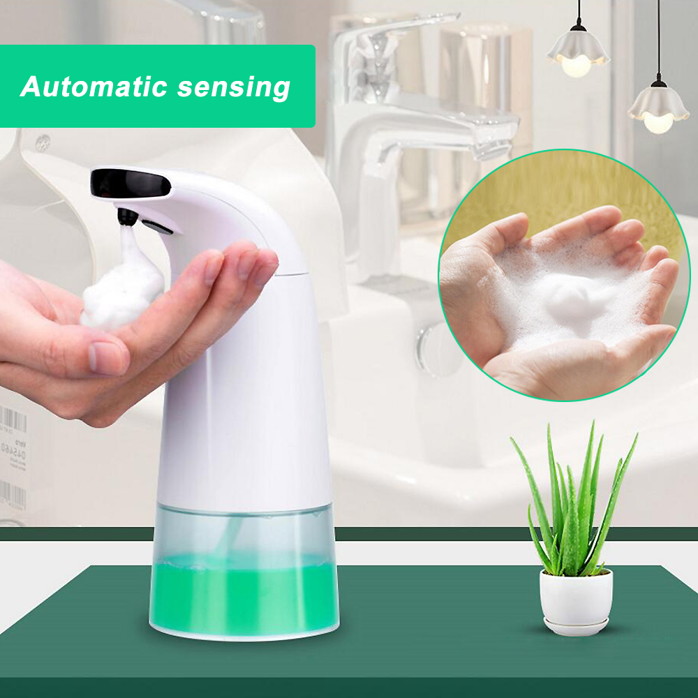 Automatic Non-Contact Soap Dispenser Hands-Free Motion Activated Infrared Sensor Stainless Steel Touchless Hand Washer 3